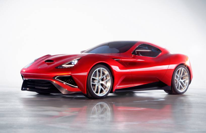 Ferrari icona vulcano