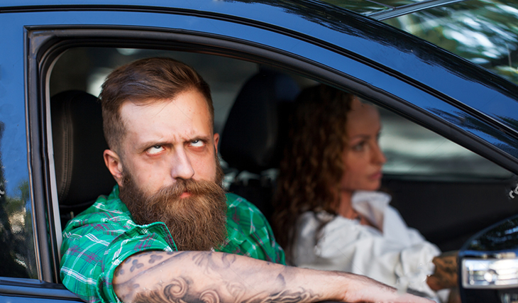 Най-странните навици на шофьорите