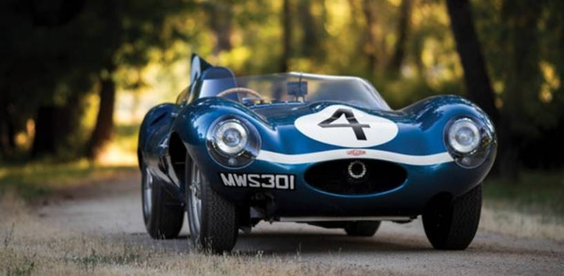 Jaguar D-Type XKD 501